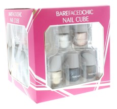 BAREFACED CHIC NAIL CUBE 15PC