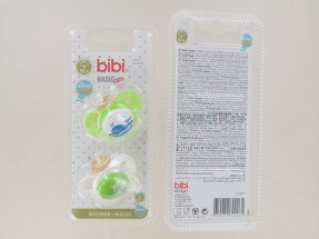 BIBI BASIC CARE 12M+ SOOTHER 2PK