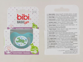 BIBI BASIC CARE 6-16M SOOTHER