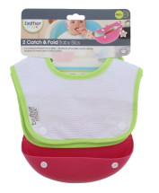 BROTHER MAX CATCH & FOLD BABY BIBS 3PC