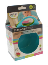 BROTHER MAX EASY BOWLS 2PK BLUE & GREEN