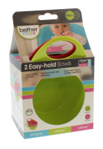 BROTHER MAX EASY BOWLS 2PK PINK & GREEN
