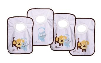 DREAMBABY CLOTH PULLOVER BIBS PETS 4PK