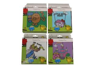MR MEN & LITTLE MISS SANDWICH BOX ASS X4