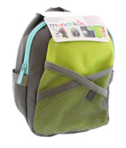 MUNCHKIN SAFETY HARNESS BACKPACK GREEN