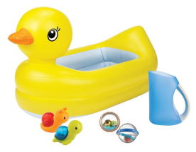 MUNCHKIN SPLISH & SPLASH BATH SET 6PC