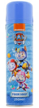 PAW PATROL 250ML MOULDABLE FOAM SOAP