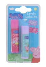 PEPPA PIG L/BALM STRAWBERRY 2PK