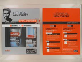 L'OREAL MEN EXP HYDRA ENERGETIC 2PC SET
