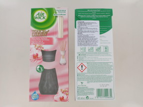 AIRWICK 25ML REED DIFFUSER SILK&ORCH LAB