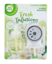 AIRWICK 19ML PLUG IN & REFILL FLORAL