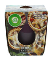 AIRWICK 105G CANDLE MINCE PIE