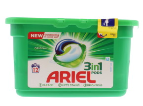 ARIEL 3IN1 PODS REGULAR 12'S LAB