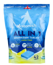 ASTONISH D/WASHER TABS 42'S LEMON