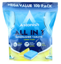 ASTONISH D/WASHER TABS 100S NEW PK