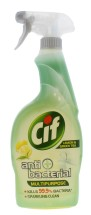 CIF 700ML MULTI PURP ANTI BAC SPRY LEMON