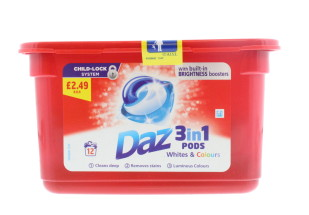DAZ GO PODS 12'S PMP £2.49
