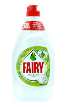 FAIRY 450ML W/UP LIQUID APPLE (PL FRONT)
