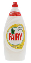 FAIRY 900ML W/UP LIQUID LEMON (LAB)