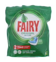 FAIRY ORIGINAL D/WASHER TABS 84'S