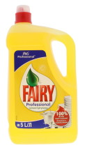 FAIRY 5L W/UP LIQUID LEMON LAB