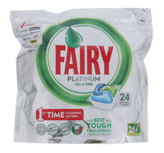 FAIRY PLATINUM D/WASH TABS 24'S