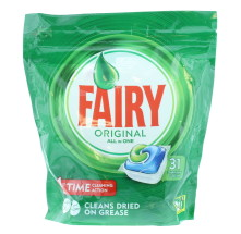 FAIRY ORIGINAL D/WASHER TABS 31'S