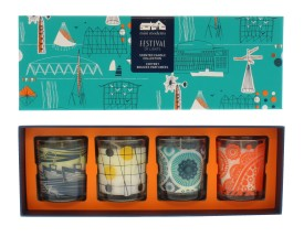 MINI MODERNS FESTIVAL OF CANDLES 4PC SET