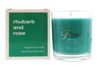 PRICE'S BOXED JAR 427G RHUBARB & ROSE
