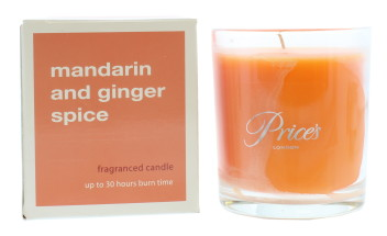 PRICE'S BOXED JAR 427G MANDARIN & GINGER