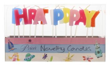 PRICE'S HAPPY BIRTHDAY CANDLES