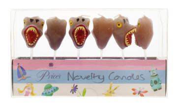 PRICE'S BIRTHDAY DINOSAUR CANDLES