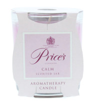 PRICE'S 130G CANDLE CALMING AROMATHERAPY