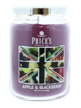PRICE'S CANDLE LARGE APPLE & BLACK