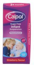 CALPOL 100ML INFANT SUSP SF STRAWB