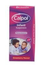 CALPOL 100ML INFANT SUSP OG STRAWB