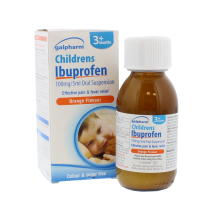 GALPHARM 100ML JUNIOR IBUPROFEN