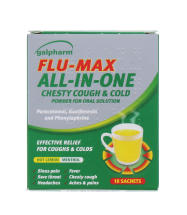 GALPHARM FLU CHEST COUGH SACHET