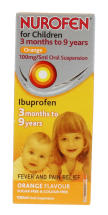 NUROFEN 100ML CHILD ORAL SUSP