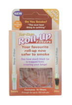 TAR BAN FILTERS 15'S ROLL UP CDU