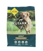 AUTARKY 1KG DOG FOOD CHIK £2.99