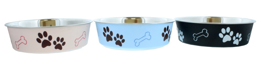 BELLA BOWL FOR DOGS LARGE ASSORTED