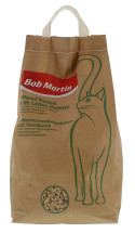 BOB MARTIN 5L WOOD CAT LITTER PELLETS