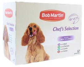 BOB MARTIN 12X100G DOG MEAT