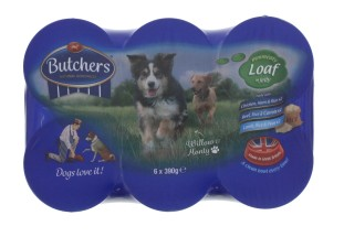 BUTCHERS 6X390G CAN VARIETY PK