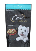 CESAR 100G MINI JOY CHEESE&BEEF