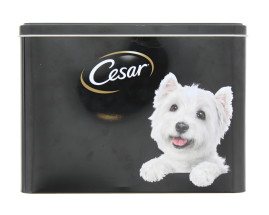 CESAR EMPTY TIN