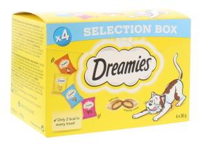 DREAMIES 4X30G CAT SELECT BOX