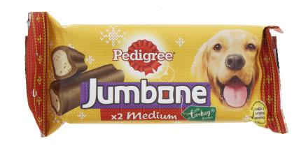 PEDIGREE JUMBONE 2X100G BEEF