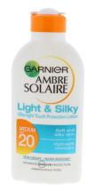A.SOLAIRE 200ML LIGHT&SILKY MILK F20